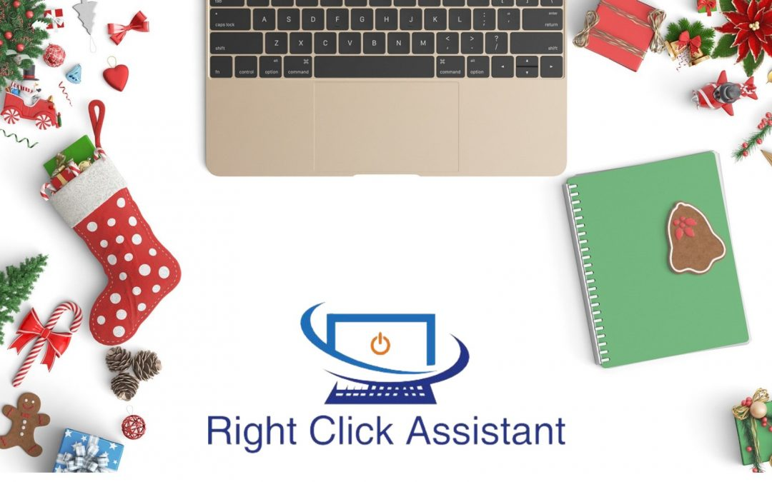 Virtual Assistance Support Leading up to Christmas