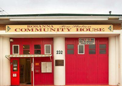 Rosanna Fire Station Community House